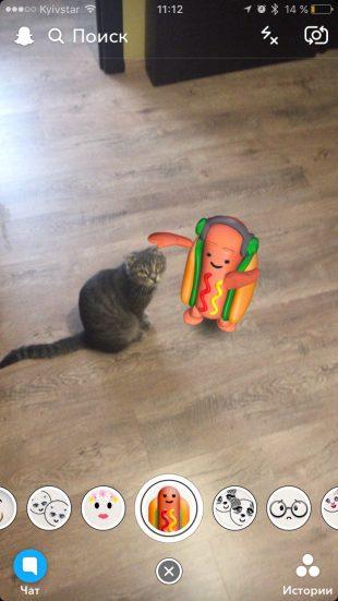 Танцующий хот-дог