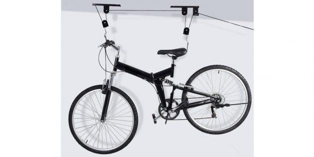 Подвесная система для хранения велосипеда