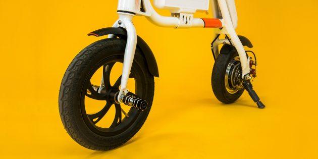 Электробайк Cactus: колёса