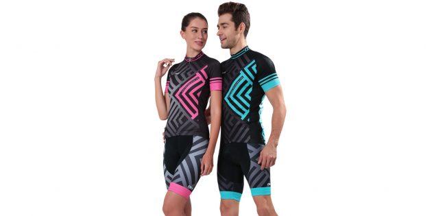 Комплект из футболки и велошорт для двоих