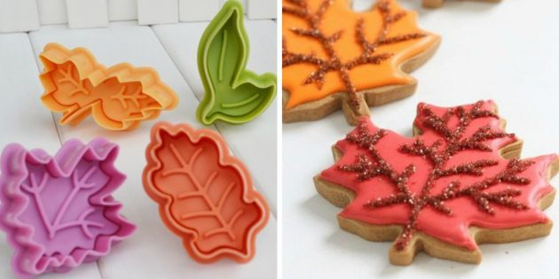 Плунжеры в форме листьев