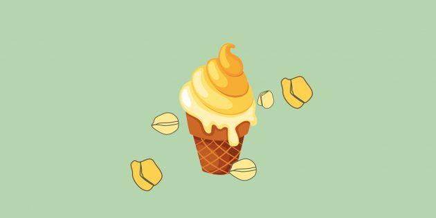 Рецепт необычного мороженого из горохового отвара