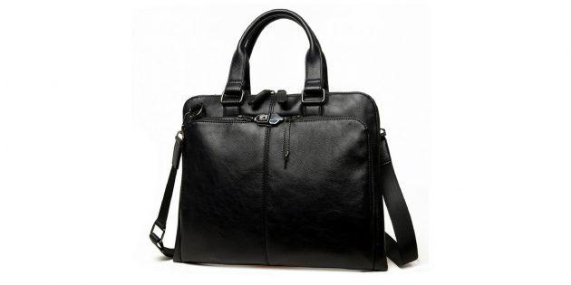 Универсальная сумка-портфель для ноутбука
