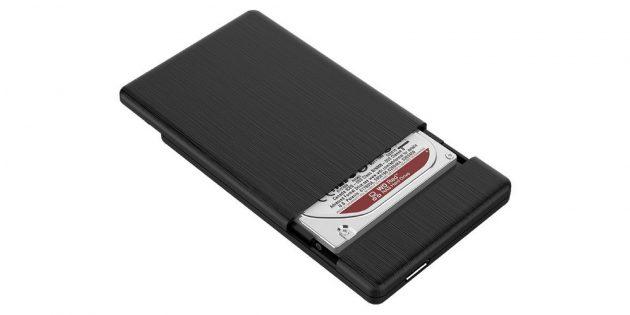 Внешний бокс для жёсткого диска USB 3.0