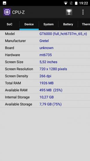 Gretel GT6000 CPU 2