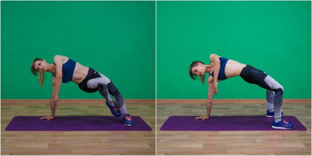 активирующие упражнения: грудной мостик