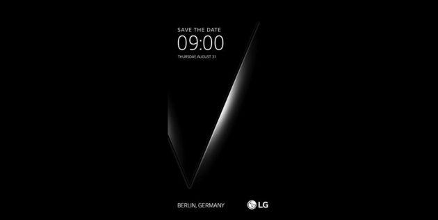 Смартфон LG V30 с дисплеем Full Vision представят на выставке IFA в Берлине