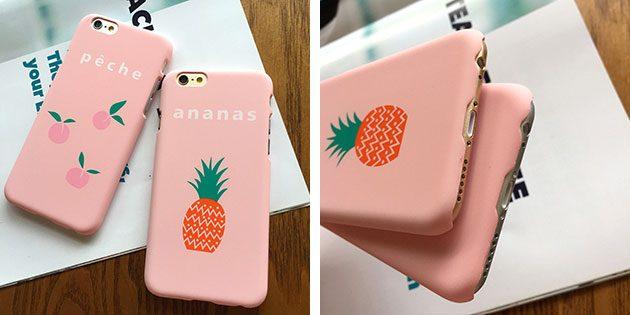 чехол для iPhone с ананасом