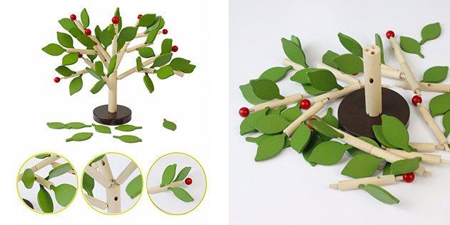 Игрушка «Собери дерево»