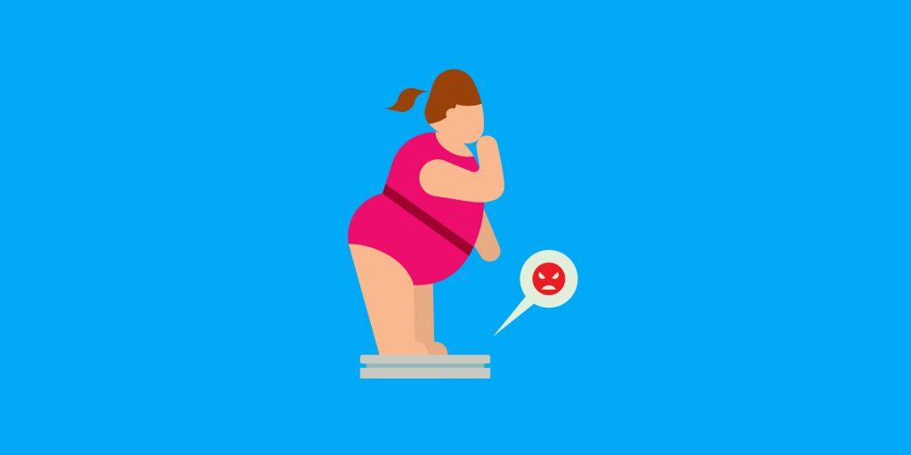 Как диеты с дефицитом калорий заставляют вас толстеть