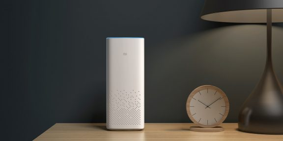 Xiaomi представила умную колонку Mi AI Speaker