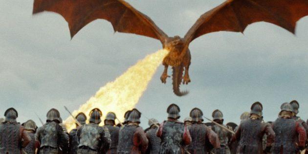«Игра престолов»: горящие каскадёры