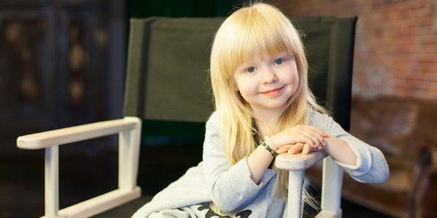 Четырёхлетняя Ева Смирнова рассказывает о буднях начинающей телезвезды