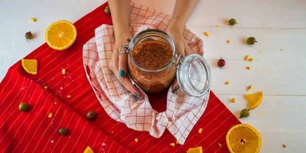 Рецепт ароматного варенья из крыжовника и апельсинов