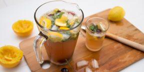 Рецепт домашнего вишнёвого лимонада