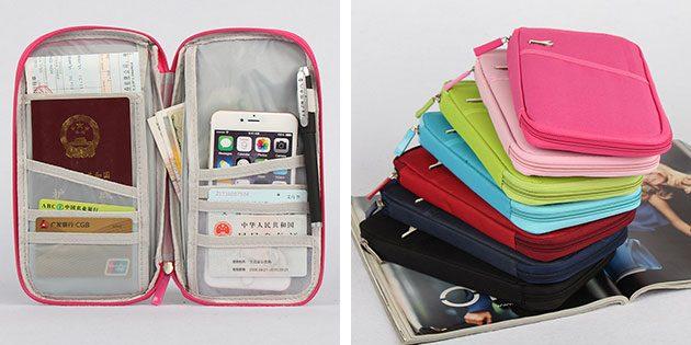 органайзер для паспорта и карточек