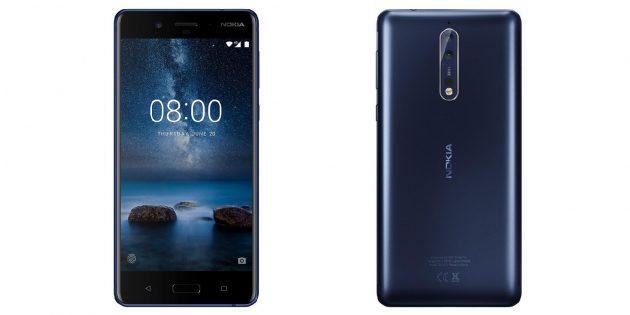 В Сети появились изображения Nokia 8 с двойной камерой от Carl Zeiss