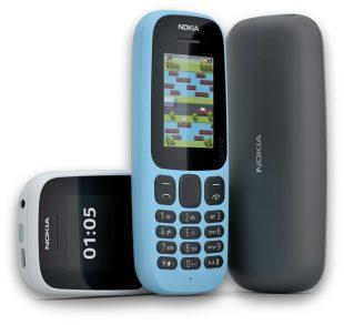 Nokia официально представила обновлённые модели 105 и 130