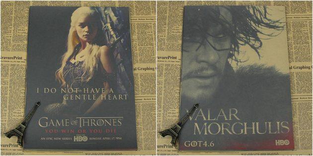 Постеры с героями