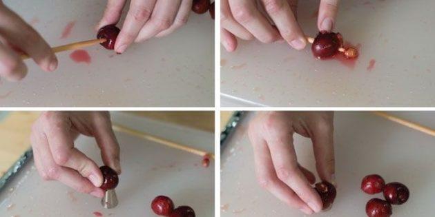 Вишнёвый пирог - рецепт пошаговый с фото
