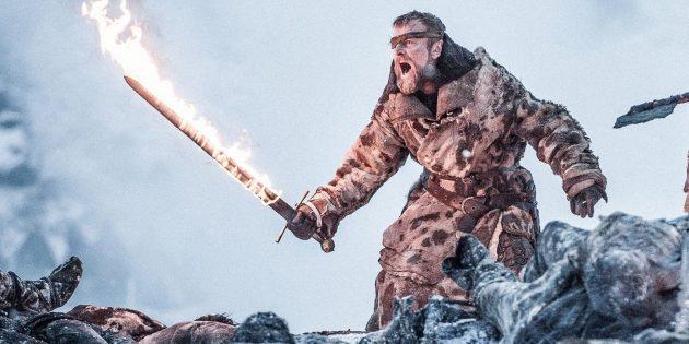 «Игра престолов»: огненный меч Берика