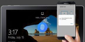 Windows 10 теперь можно разблокировать с помощью сканера отпечатков пальцев Samsung Galaxy