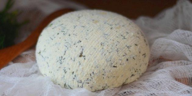 Как приготовить домашний сыр: Быстрый домашний сыр