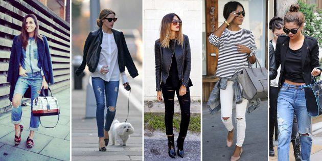 Как сделать рваные джинсы: выберите образ
