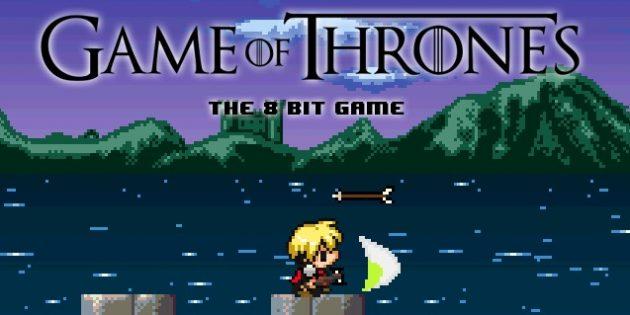 факты об «Игре престолов»: восьмибитная игра
