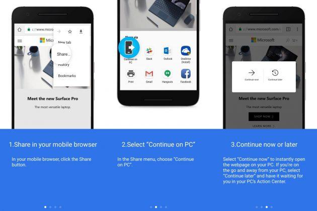 Windows 10, Android, смартфоны