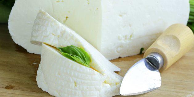 Как приготовить сыр: Домашняя брынза