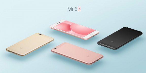 В Сети появилась информация о новом смартфоне Xiaomi Mi 6C