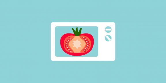 20 неожиданных вещей, которые можно засунуть в микроволновку