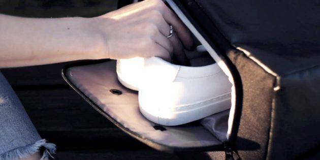 Рюкзак UNISHIFT: отделение для обуви