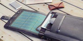 Гаджет дня: Moovy Bag — умный рюкзак с аккумулятором и солнечной панелью