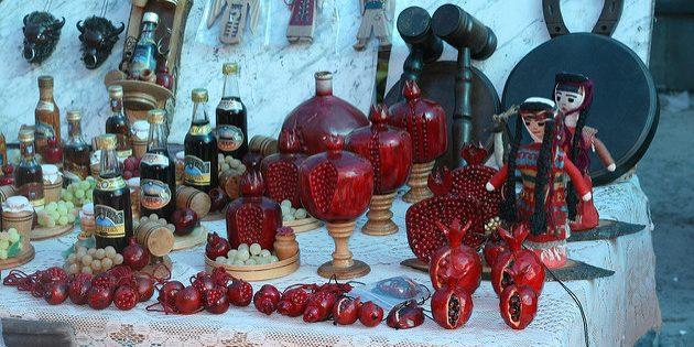 сувениры из Европы: Армения