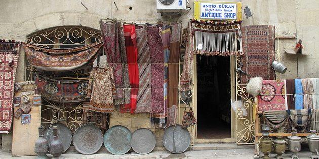 сувениры из Европы: Азербайджан