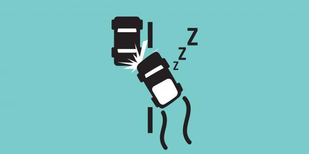 5 знаков того, что вы уже спите за рулём