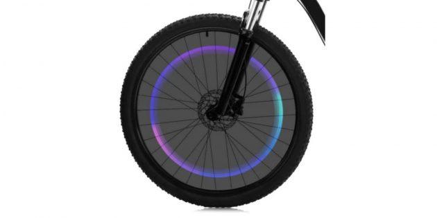 Цветные колпачки для велосипеда