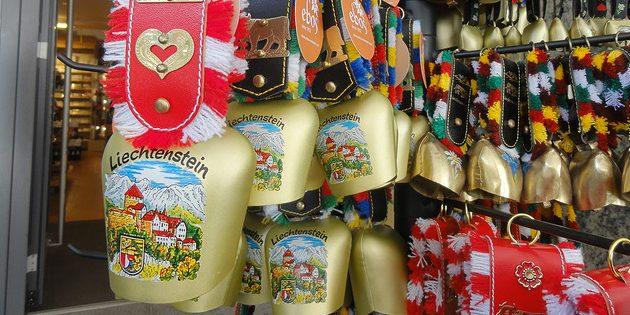 сувениры из Европы: Лихтенштейн