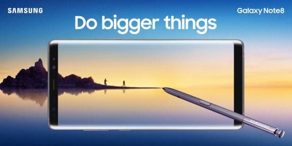 Samsung представила флагман Galaxy Note8