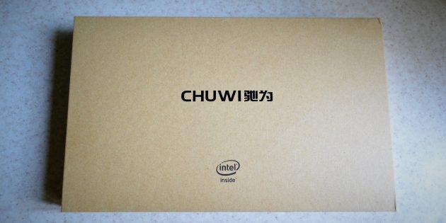 Chuwi Hi8 Pro: коробка