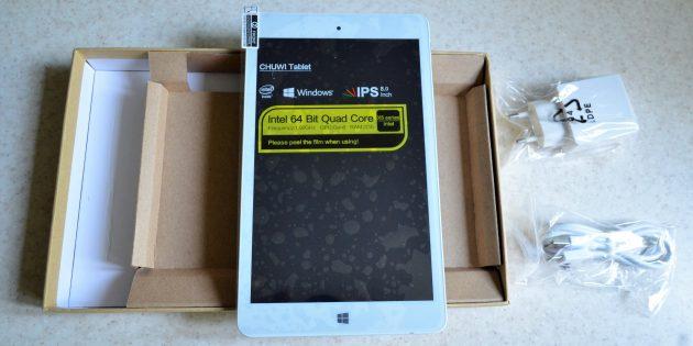 Chuwi Hi8 Pro: внешний вид