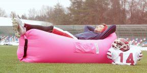 Лучше, чем просто диван: надувной лежак «Биван 2.0»