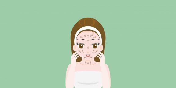 Как использовать массажные линии лица и шеи, чтобы продлить молодость