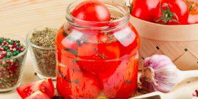 Как приготовить вкусные малосольные помидоры
