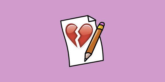 Как справиться с болью от расставания при помощи ручки и бумаги