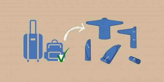 Как уместить все вещи для отпуска в одну сумку и провезти её в ручной клади