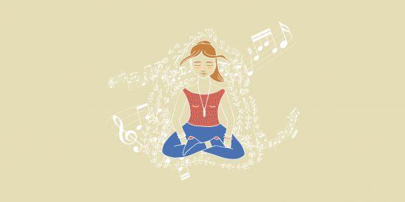 Какую музыку слушать во время медитации: авторские подборки и популярные приложения