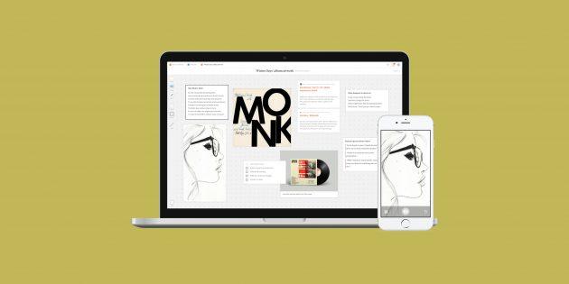Milanote Web Clipper сохранит контент из Сети на интерактивных досках